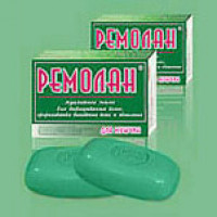 The Remolan soap for hair growth, prevention of hair loss and alopecia for men